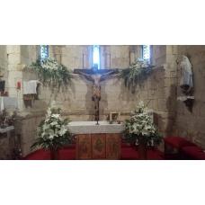 Decoración  floral de  Iglesia