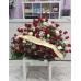 Rosas en centro ( 6 docenas )
