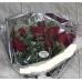 Ramo 12 Rosas Funeral Con Cinta