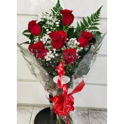 Rosas    6 unidades