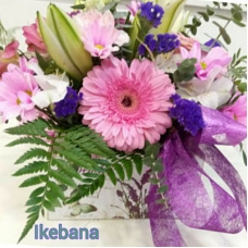 Caja con flores ternura