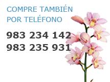 Compre  flores también por teléfono