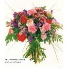 Ramo primaveral con claveles