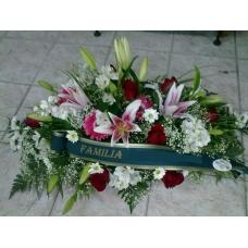 Centro Funeral lilium y rosas